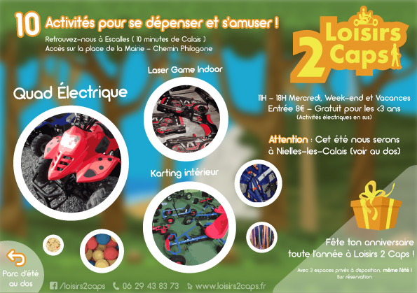 loisirs 2 caps 2019 flyer particulier